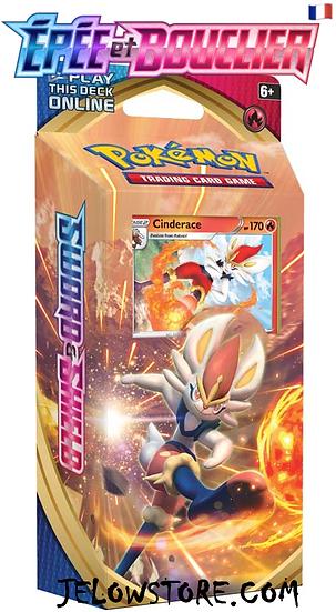 deck à theme pokemon EB1 pyrobut