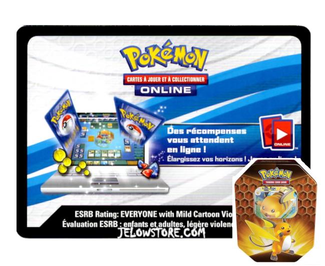 Code Online Pokémon - 1x Pokébox Raichu-GX [SL11.5]