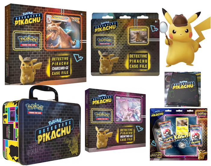 Coffret Detective Pikachu Collection