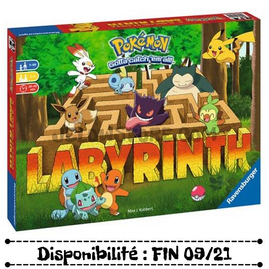 Pokémon - Labyrinth [JEU DE SOCIETE] FR