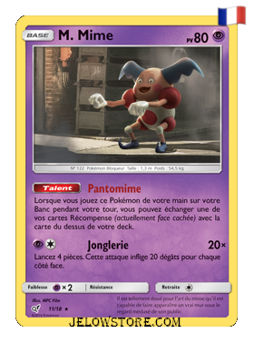 M. Mime holo 11/18 Détective Pikachu FR