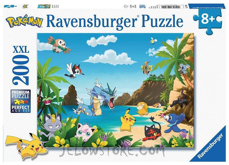 Ravensburger Puzzle Pokémon - Attrapez-les tous 200 pièces