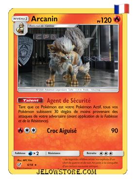 Arcanin Holographique 6/18 Détective Pikachu FR