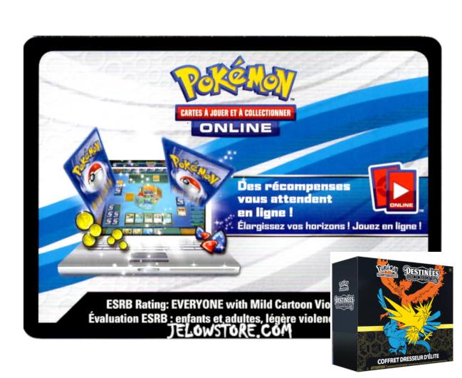 Code Online Pokémon - 1x ETB/Coffret Dresseur d'Elite [SL11.5]