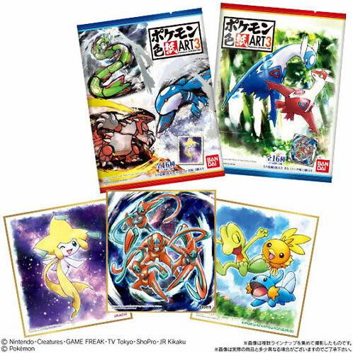 booster shikishi art pokemon série 3
