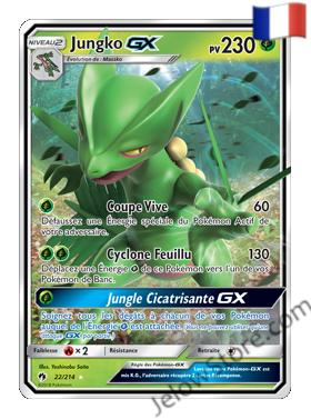 Pokemon SL8 Jungko Gx Fr 22/214
