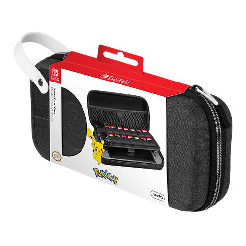 Sacoche de transport: OFFICIAL SWITCH DELUXE TRAVEL CASE - POKEBALL