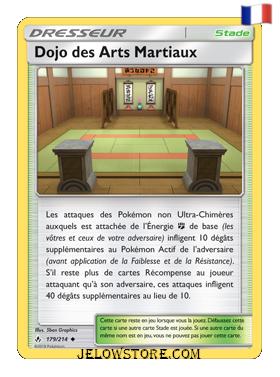 DOJO DES ARTS MARTIAUX 179/214 FR [SL10 ALLIANCE INFAILLIBLE]