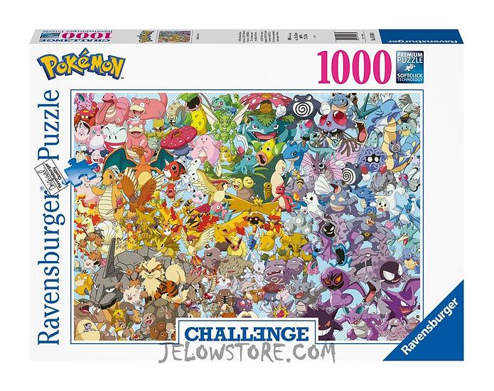 Ravensburger Puzzle Pokémon - Challenge 1000 pièces