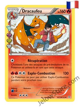 DRACAUFEU HOLO RC5/RC32 FR [XY GENERATIONS]