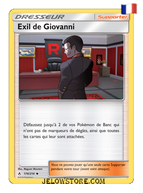 EXIL DE GIOVANNI 174/214 FR [SL10 ALLIANCE INFAILLIBLE]