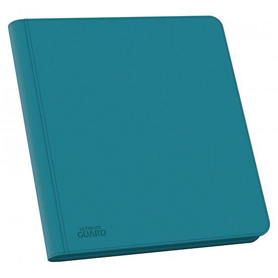 Portfolio 12-Pocket QuadRow ZipFolio XenoSkin [Ultimate Guard] - Bleu Pétrole
