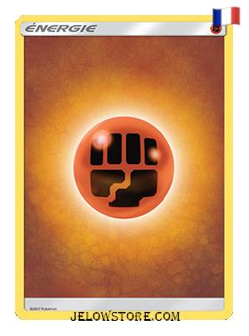 carte pokemon energie combat