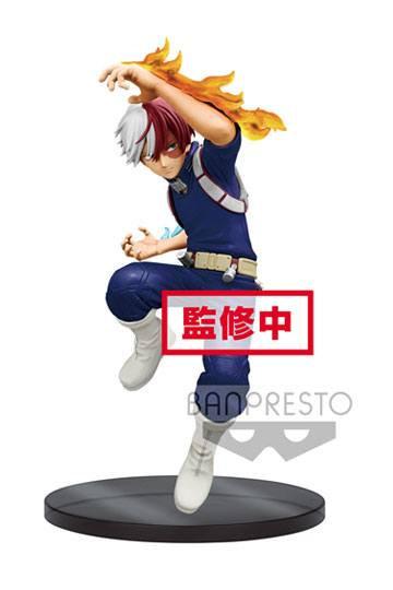 figurine my hero academia banpresto the amazing heroes shoto todoroki