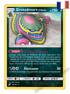 Pokémon SL9 Duo de Choc Grotadmorv d'Alola Fr