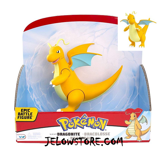 figurine pokemon dracolosse