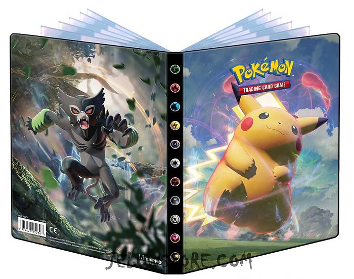 Portfolio Pokémon A5 / 4 pochettes [EB04 - Voltage Eclatant]