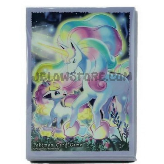 TCG JAP - Sleeve [Ponyta & Galopa de Galar] x1