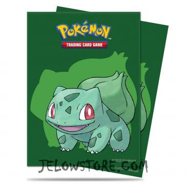 Protèges-cartes Pokémon [Ultra PRO] - Bulbizarre x65