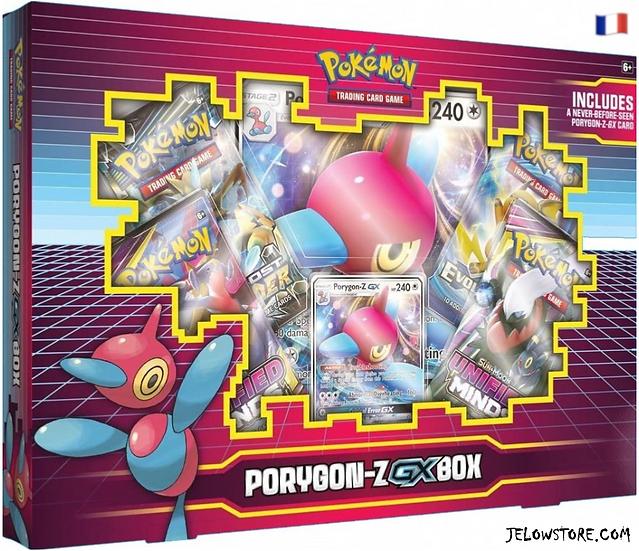 Coffret Pokémon: PORYGON-Z-GX FR