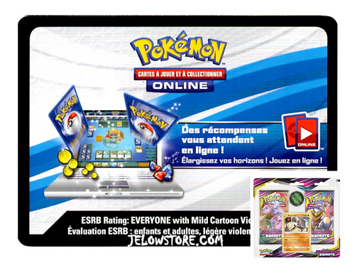 "Code Online Pokémon - 1x Duopack Harmonie des Esprits ""Ama-Ama"" [SL11]"