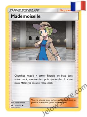 MADEMOISELLE 109/131 FR [SL6 LUMIERES INTERDITES]