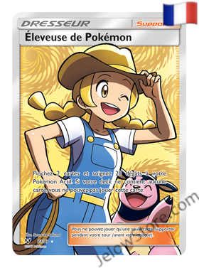 ELEVEUSE DE POKEMON FULL ART 73/73 FR [SL3.5 LEGENDES BRILLANTES]