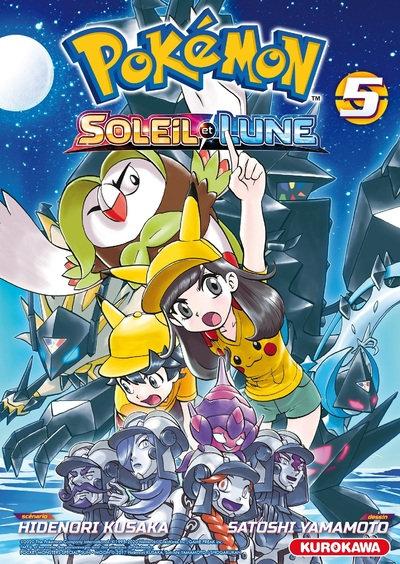 manga pokemon soleil et lune tome 5