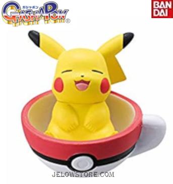 gashapon teatime cup pikachu