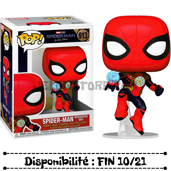 Funko pop [Spiderman No Way Home] Spider-Man in Integrated Suit - #913