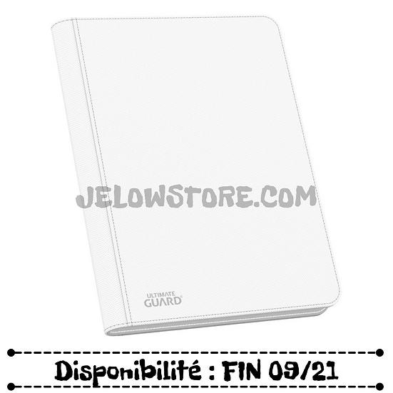 Portfolio A4 / 9 cases [Ultimate Guard] - Zipfolio Xenoskin 360 - Blanc