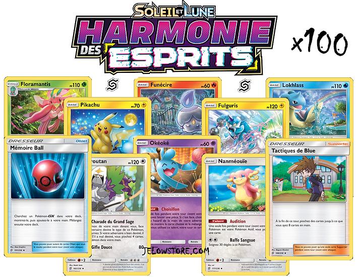 lot de cartes pokemon SL11 harmonie des esprits