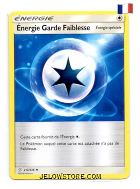 ENERGIE GARDE FAIBLESSE 213/236 FR SL11 HARMONIE DES ESPRITS