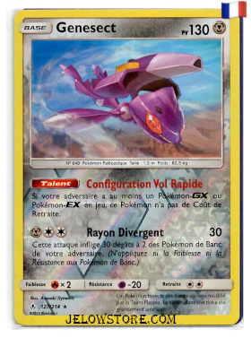 GENESECT REVERSE 127/214 FR SL10 ALLIANCE INFAILLIBLE