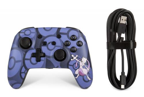 POWER A - WIRED CONTROLLER POKEMON MEWTWO