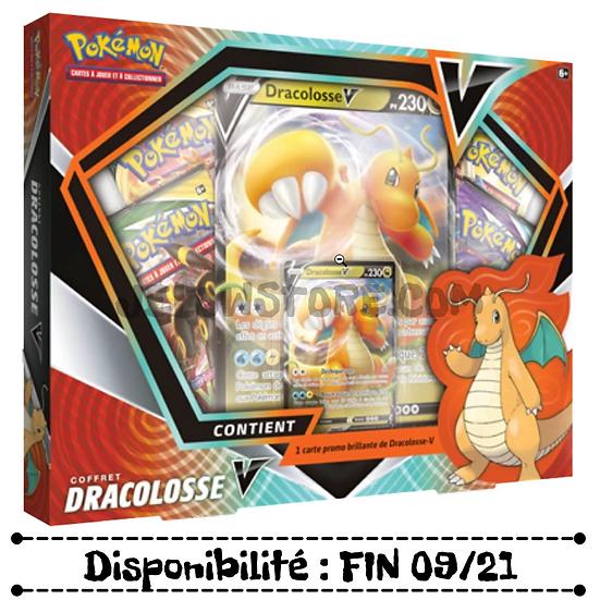 JCC Pokémon : Coffret 4 boosters Dracolosse-V [FR]