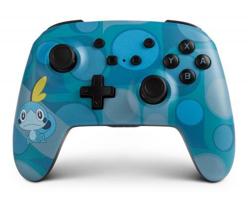 Manette Nintendo Switch: POWER A - WIRELESS ENHANCED CONTROLLER POK LARMELEON