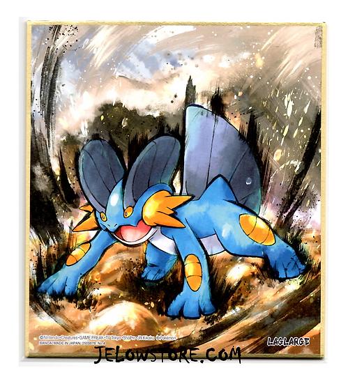 shikishi art pokemon laggron