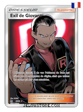 EXIL DE GIOVANNI FULL ART 67/68 FR [SL11.5 DESTINÉES OCCULTES]