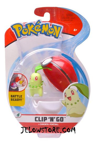 figurine pokemon clip n go germignon poke ball