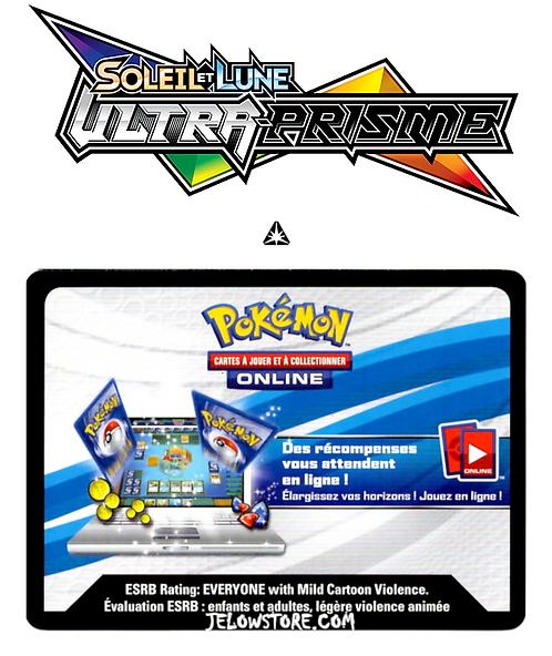 Code Online Pokémon - 1x booster [SL5 - ULTRA-PRISME]