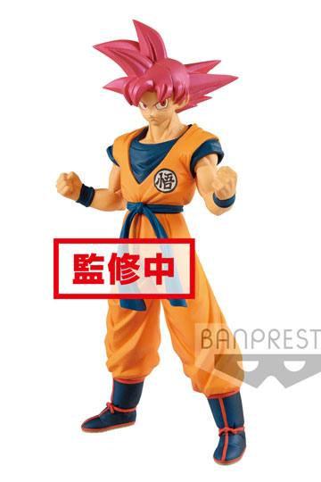 Dragon ball Super Figurine Cyokuku Buyuden Super Saiyan God Son Goku