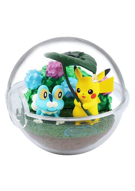POKEMON TERRARIUM FOUR SEASONS - Pikachu et Grenousse