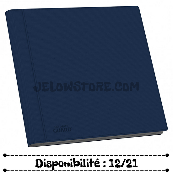 Portfolio 12-Pocket QuadRow XenoSkin [Ultimate Guard] - Bleu
