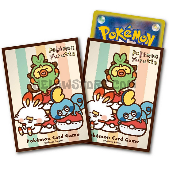 TCG JAP - Sleeve [Pokémon Yurutto Cushion] x1