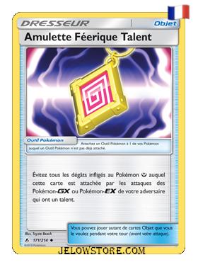 AMULETTE FEERIQUE TALENT 171/214 FR [SL10 ALLIANCE INFAILLIBLE]