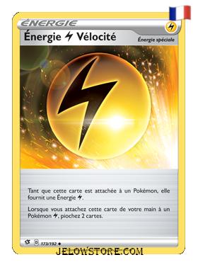ENERGIE (ELECTRIQUE) VELOCITE 173/192 FR [EB02 CLASH DES REBELLES]