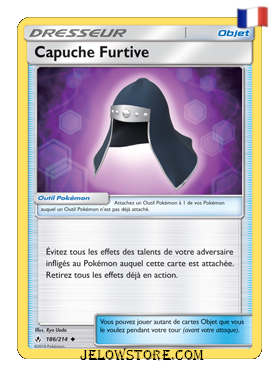 CAPUCHE FURTIVE 186/214 FR [SL10 ALLIANCE INFAILLIBLE]