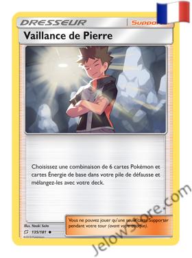 VAILLANCE DE PIERRE 135/181 FR [SL9 DUO DE CHOC]