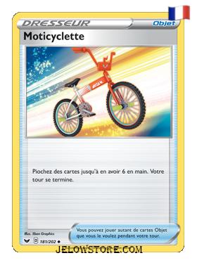 MOTICYCLETTE 181/202 FR [EPEE ET BOUCLIER]